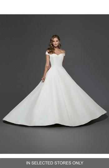 Свадьба - Matthew Christopher Antoinette Off the Shoulder A-line Gown