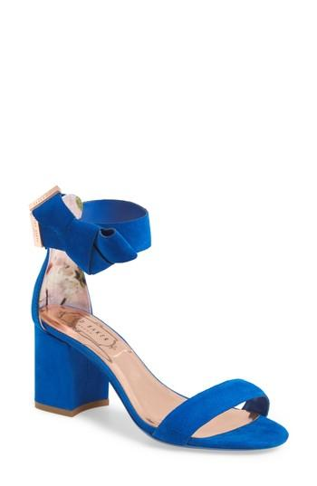 bd75e7b02 Ted Baker London Kerrias Block Heel Sandal (Women)  2830797 - Weddbook