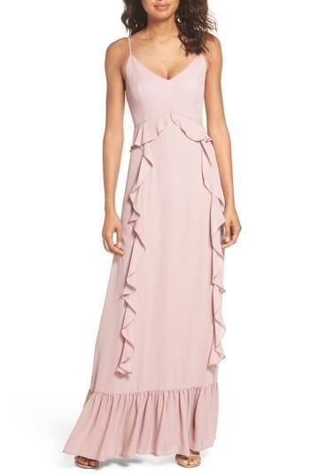 Wedding - WAYF Loyal Ruffle Empire Maxi Dress