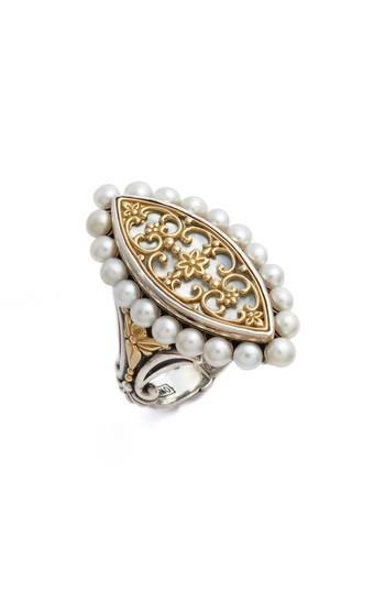 Mariage - Konstantino Sterling & Cultured Pearl Marquise Ring