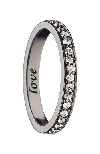 Mariage - Monica Rich Kosann Love White Sapphire Ring