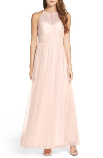 Wedding - WTOO Tulle Halter Neck Gown