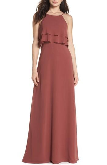 Hochzeit - Jenny Yoo Charlie Ruffle Chiffon Gown