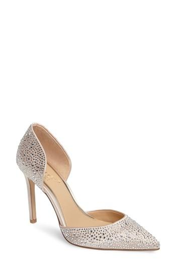 Свадьба - Jewel Badgley Mischka Alexandra d'Orsay Pump (Women)