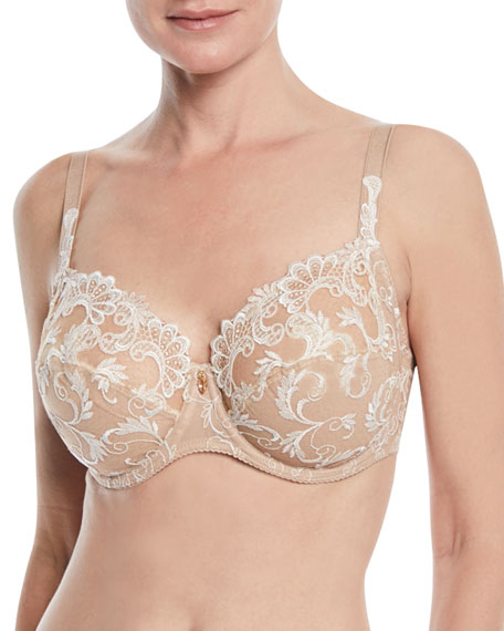 Wedding - Guipure Charming 3-Part Full-Cup Bra