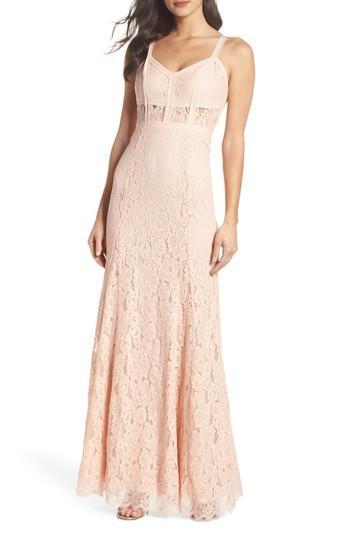 Mariage - Heartloom Esti Bustier Bodice Lace Gown
