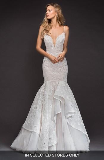 Hochzeit - Hayley Paige Ronnie Embellished Mermaid Gown