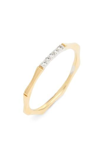 Mariage - Bon Levy Diamond Bar Octagon Ring (Nordstrom Exclusive)