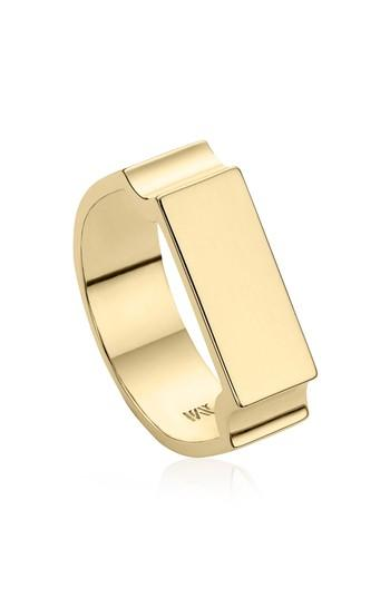 Wedding - Monica Vinader Wide Signature Ring