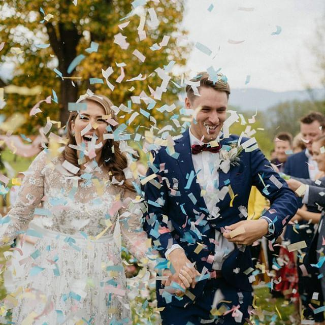 Hochzeit - Polka Dot Bride