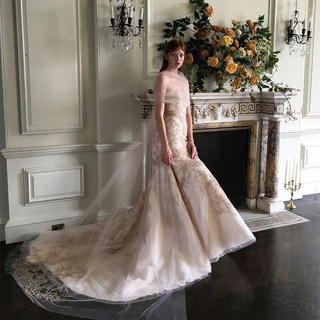 Свадьба - Monique Lhuillier Bride