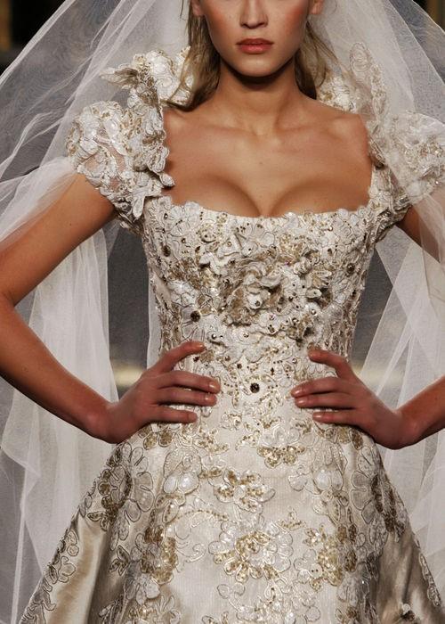 Barocke Hochzeits- - Designer Brautkleid #789659 - Weddbook