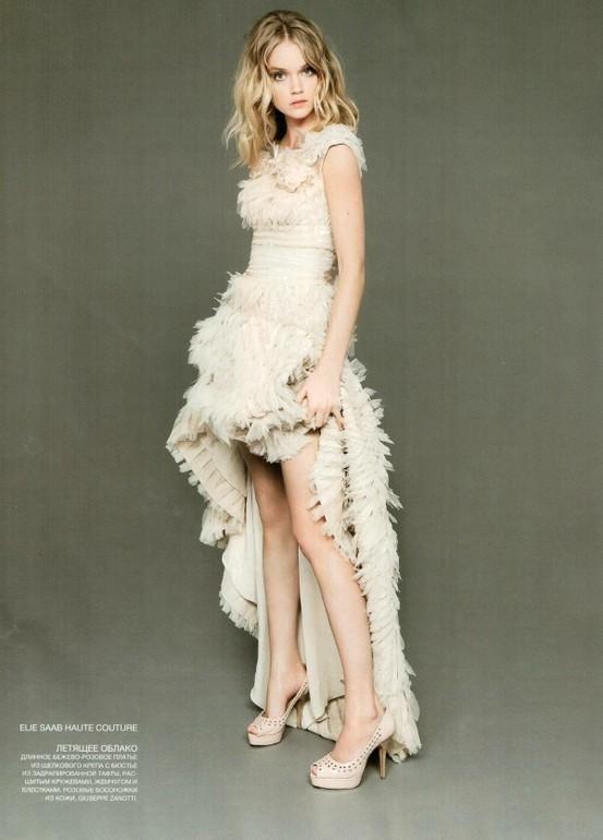 Hochzeit - Special Design Short Brautkleid