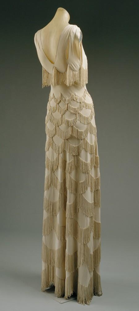 Vintage Abendkleid ♥ 1920 Style Fringe Brautkleid #789774 - Weddbook