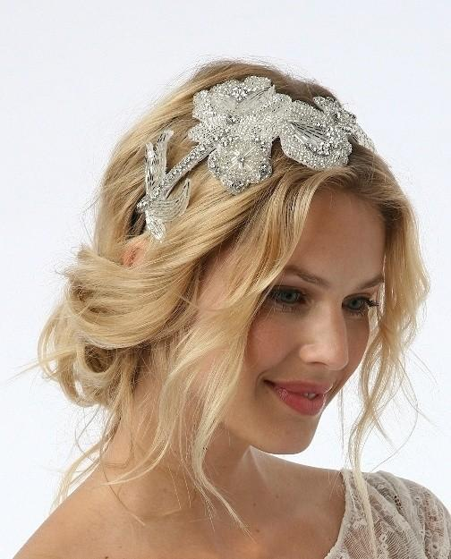 Impressive Wedding Hair with Headband 504 x 625 · 48 kB · jpeg