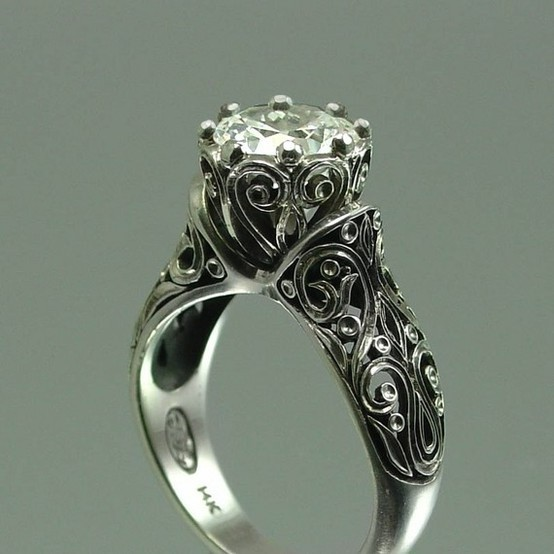 wedding ring - Vintage Wedding Rings For Sale