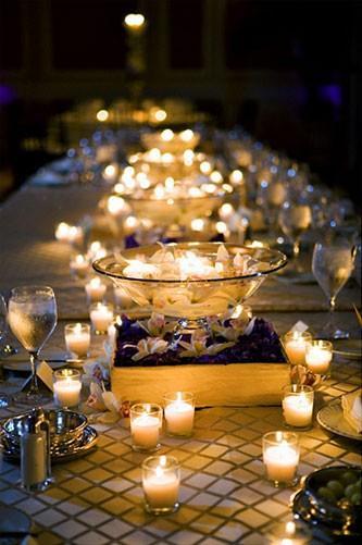 Mariage - Romantiques de mariage Décoration de mariage ♥ Options de Lumière