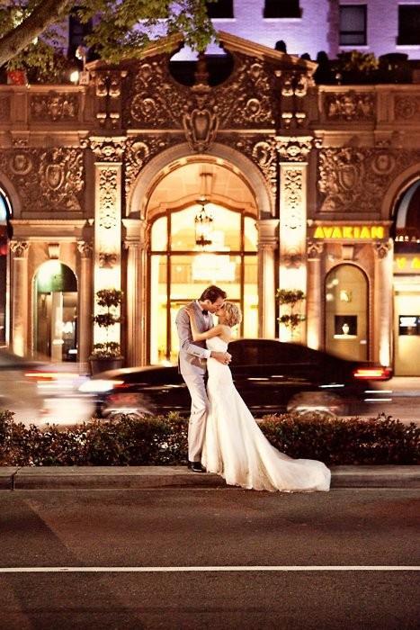 Hochzeit - Professionelle Hochzeits-Kuss Fotografie ♥ Romantic Wedding Kiss Photo