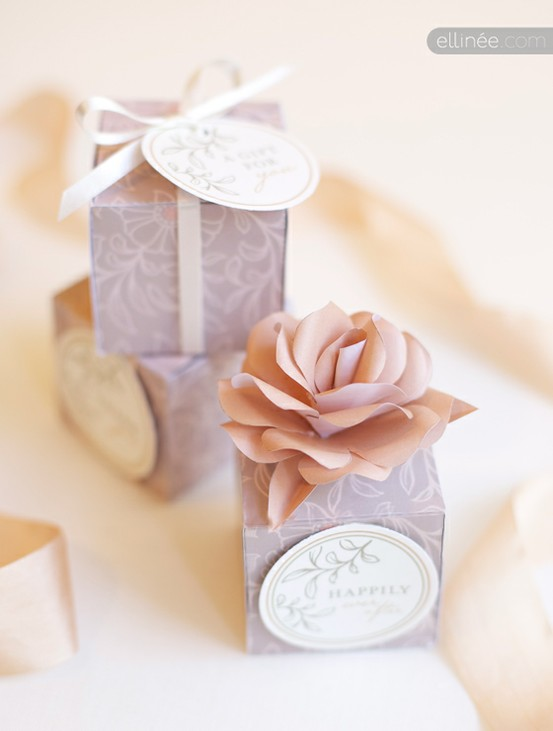 Diy Vintage Wedding Favors Handmade Favor Ideas