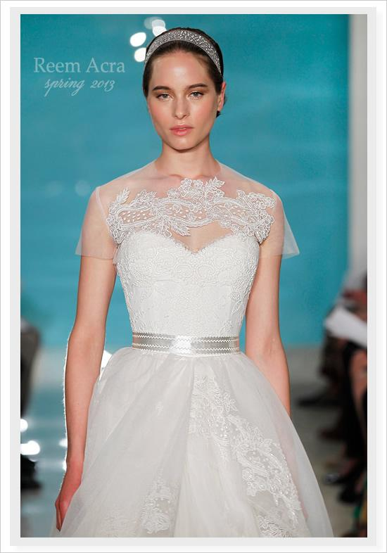 Wedding - Reem Acra Spring 2013