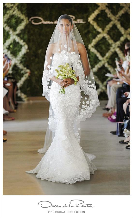 Wedding - Oscar De La Renta 2013 Collection