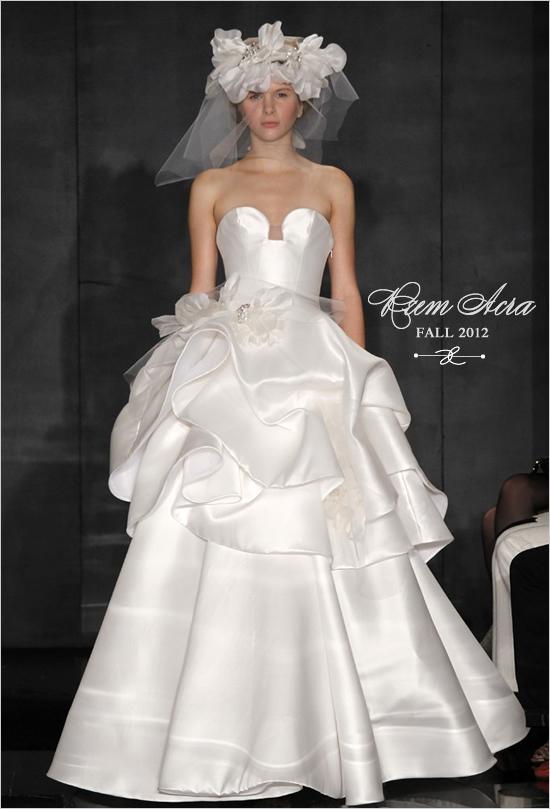 216cc6a29f5a Reem Acra - Reem Acra Fall 2012 Bridal #792548 - Weddbook