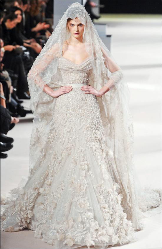 Dress - Ellie Saab Wedding Gown #792652 - Weddbook