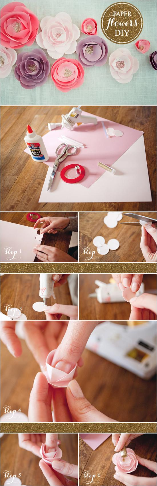 How To Make Home Enchanting With Cute DIY Paper Flowers Image
