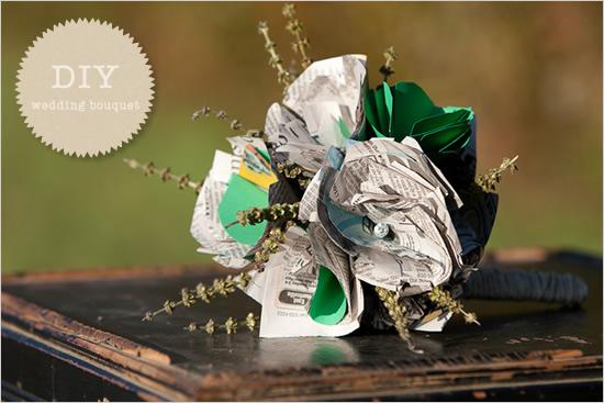 Mariage - Bouquet de mariage bricolage