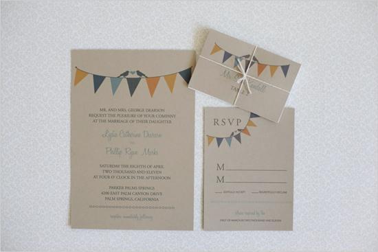 Hochzeit - Eco Friendly Hochzeits-Einladung