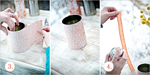Mariage - Canisters Diy Floral