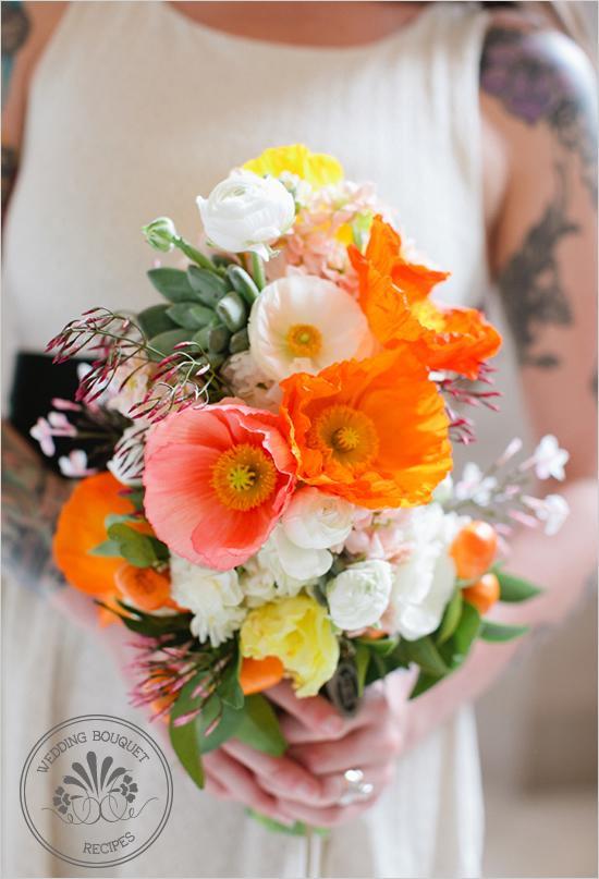 wedding bouquet poppy succulent bouquet 793384 weddbook. Black Bedroom Furniture Sets. Home Design Ideas