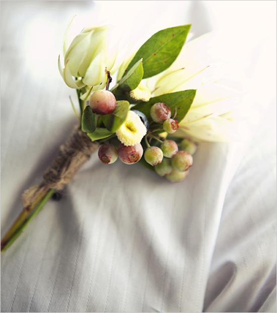 Hochzeit - Rustic Boutineere