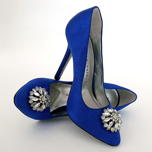 Blue wedding blue wedding shoes 796575 weddbook blue wedding shoes junglespirit Image collections