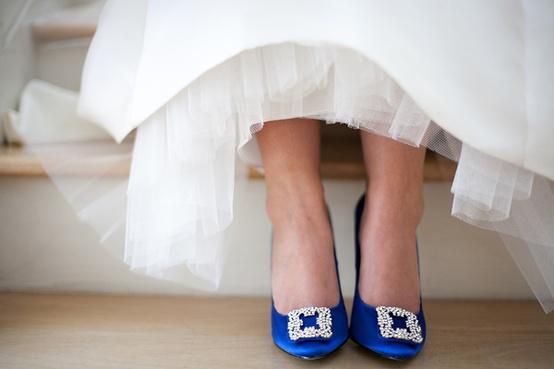 Blaue Hochzeit - Blau Brautschuhe #796587 - Weddbook