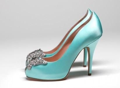 زفاف - أحذية أنيقة عالية الكعب الزفاف