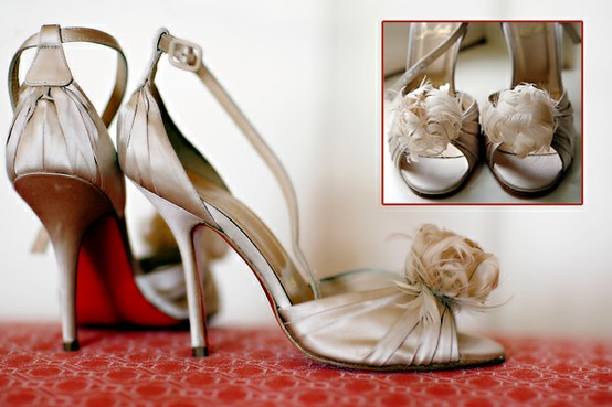 Wedding - Christian Louboutin Wedding Shoes ♥ Chic and Fashionable Wedding High Heel Shoes