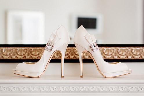 Wedding - White Wedding Shoes