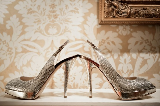 Mariage - Chaussures Jimmy Choo ♥ de mariage Chaussures de mariage Chic
