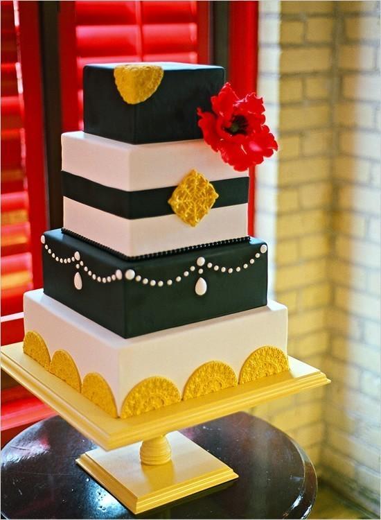Modern Wedding - Modern Wedding Cakes #796849 - Weddbook