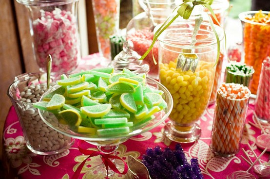Wedding - Colorful Wedding Candy ♥ Wedding Favor Idea