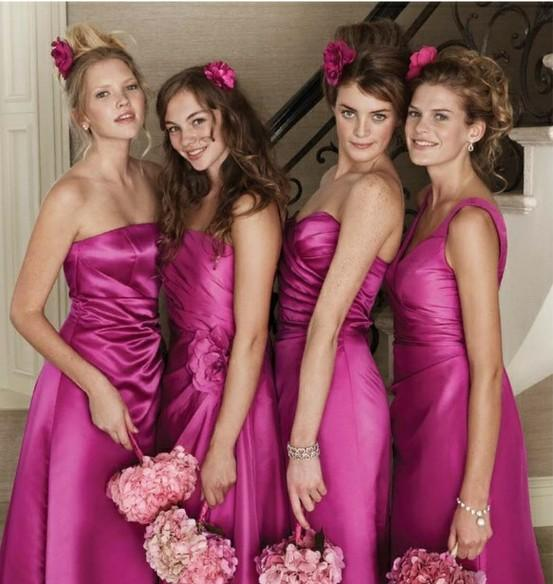 Pink Wedding \u0026gt; Pink Bridesmaids Dresses 796944 Weddbook