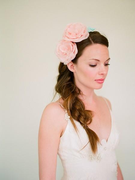 Hochzeit - Natürliche Hochzeit Hair ♥ Braided Hochzeit Frisuren