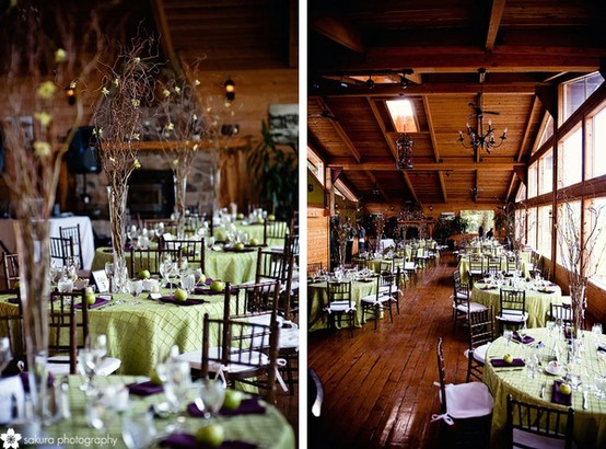 Rustic Wedding - Rustic Wedding Reception Decor #797355 - Weddbook