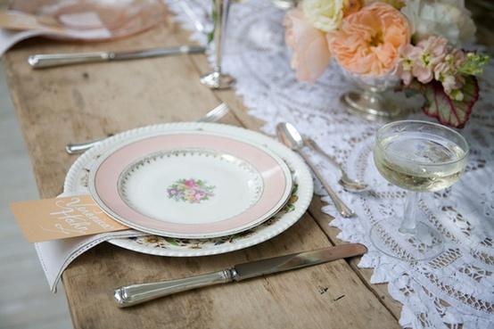 Vintage Wedding  Vintage Wedding Decor #797394  Weddbook ~ Geschirr Vintage