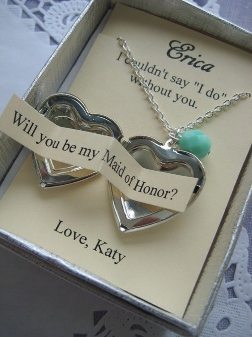 Wedding Gift Ideas For Bride From Maid Of Honor : WeddingBridesmaid Proposal ? Breathtaking Bridesmaid Gifts