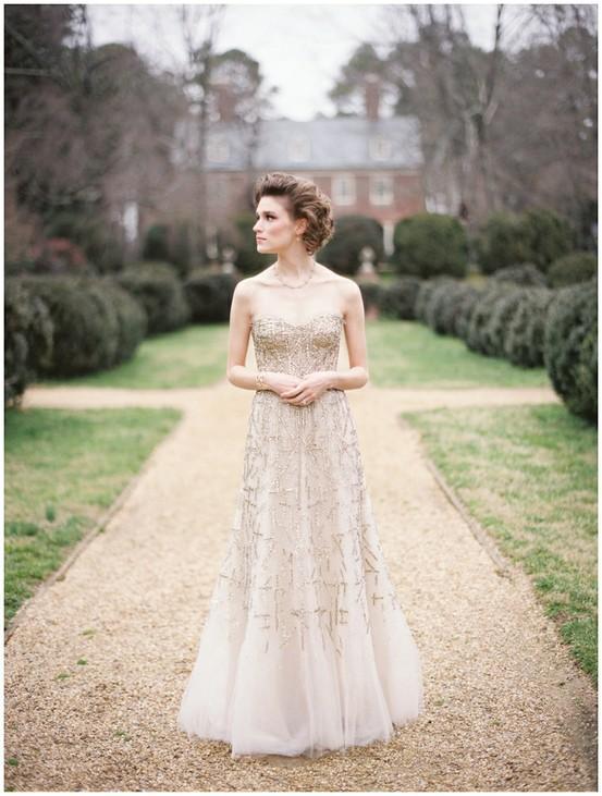 Mariage - Luxry robe de mariage de conception spéciale