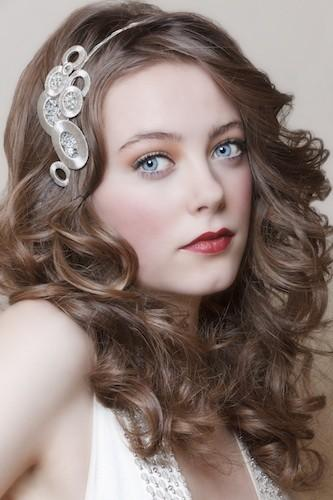Wedding - Cute Wedding Hairstyle  ♥ Wavy Wedding Hair