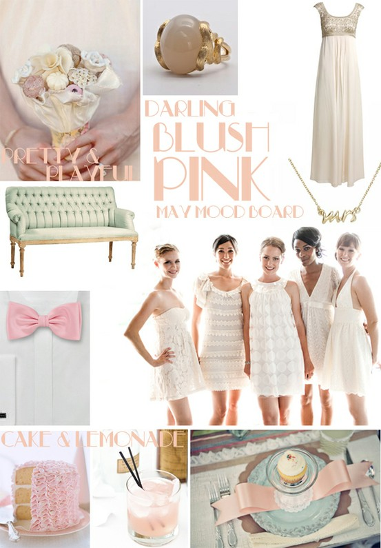 Blush Wedding - Blush Wedding Color Palettes #798543 - Weddbook