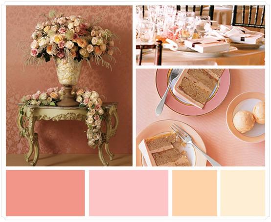 Blush Wedding - Blush Wedding Color Palettes #798559 - Weddbook